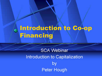 SCA P456 IntroductiontoCo opFinancing Slides1