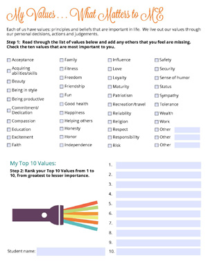 Lesson1 Sheet1 MyValues websize