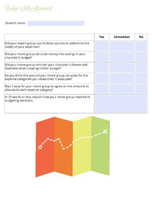 Lesson3 BudgetSelf Assessment websize